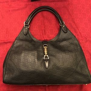 Gucci Bags - USED/AUTH GUCCI Jackie O Guccissima Leather Hobo